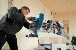 Bosch GCM 12 GDL Professional im Einsatz